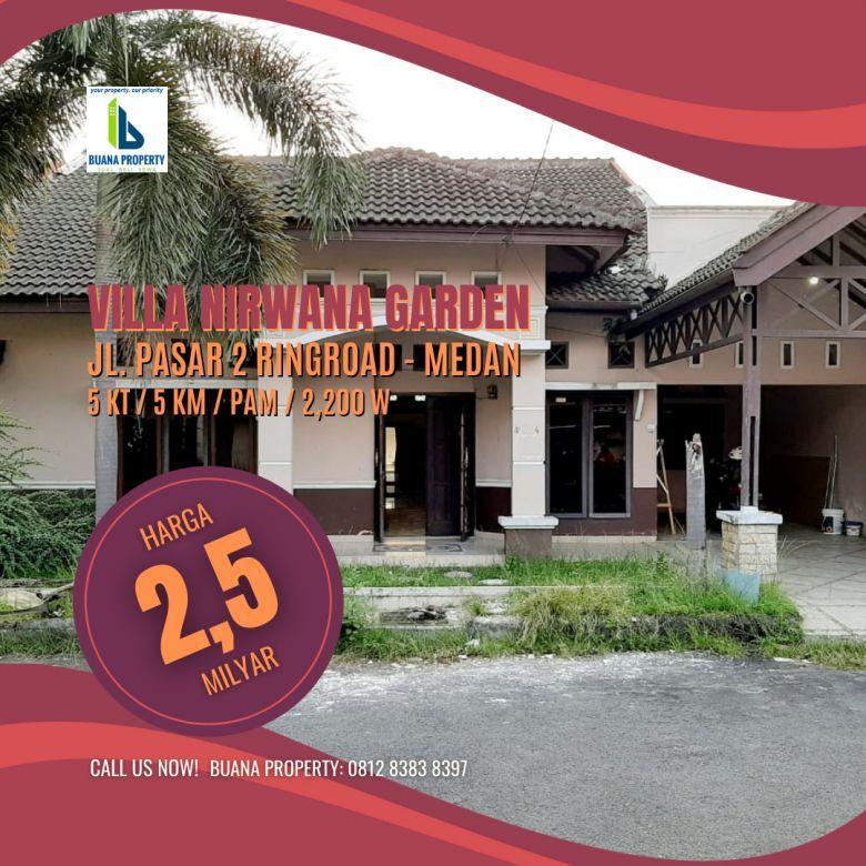 Rumah di Komplek Villa Nirwana Garden Ps 2 Tanjungsari Medan