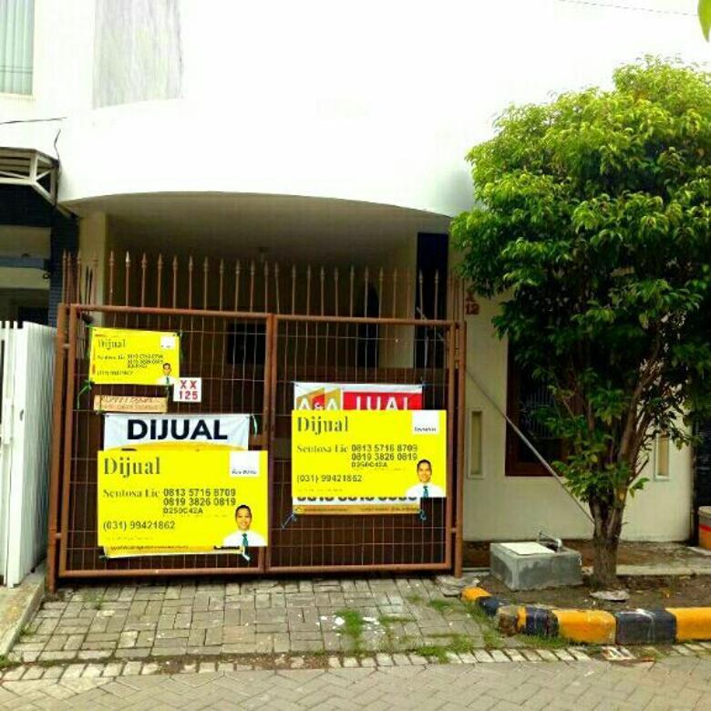 Murah 800jt NEGO Rumah Babatan Pratama Wiyung Fresh Siap Huni
