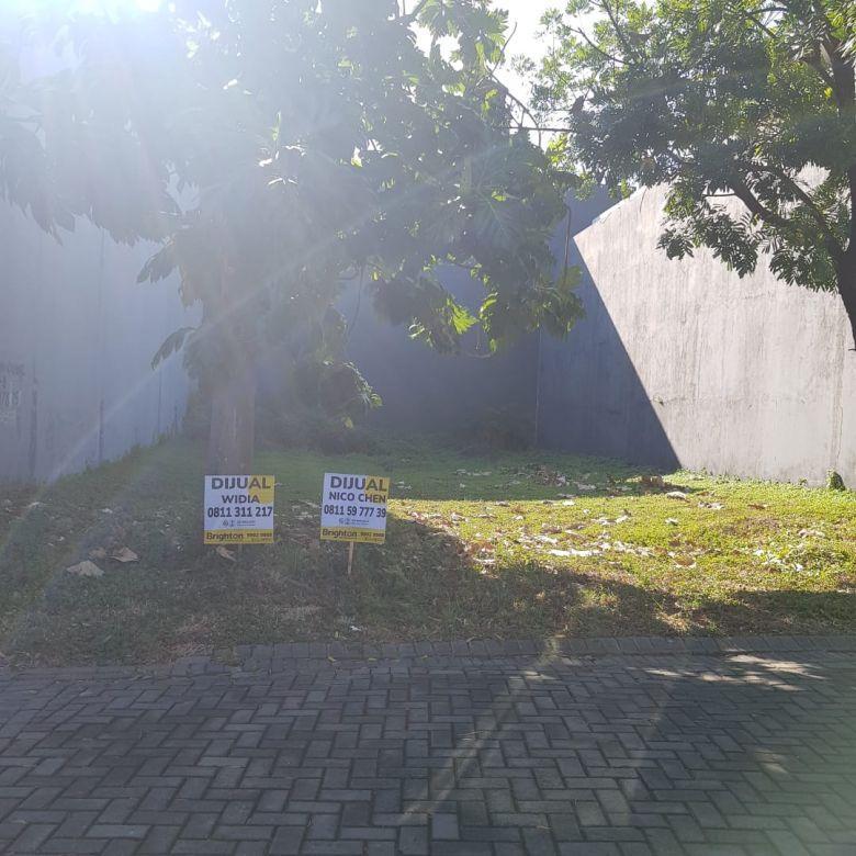 Dijual Tanah Pakuwon Indah Villa Bukit Indah hadap barat-utara