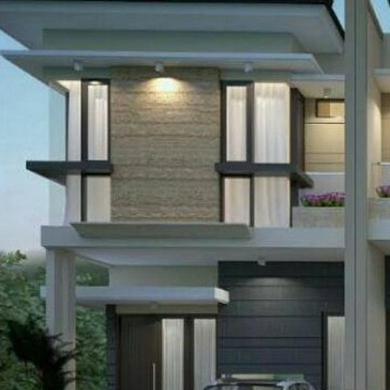 Rumah new gress minimalis posisi hook di Pandugo Surabaya