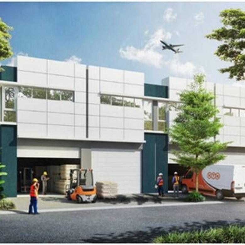 jual Gudang Aeropolis dekat Bandara Soekarno Hatta Di Tangerang md639