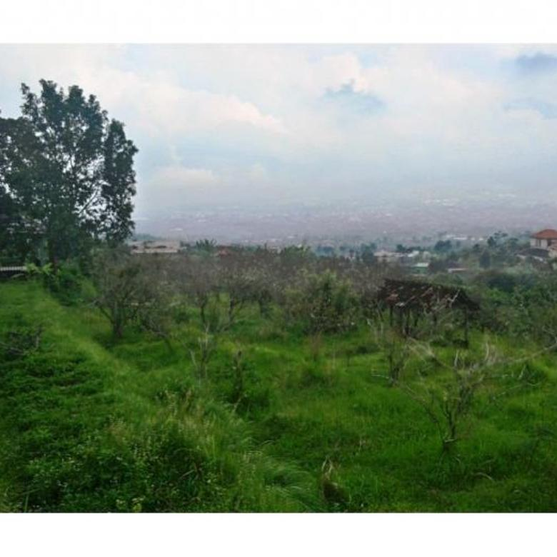 Tanah view bagus strategis cocok untuk villa dikota batu