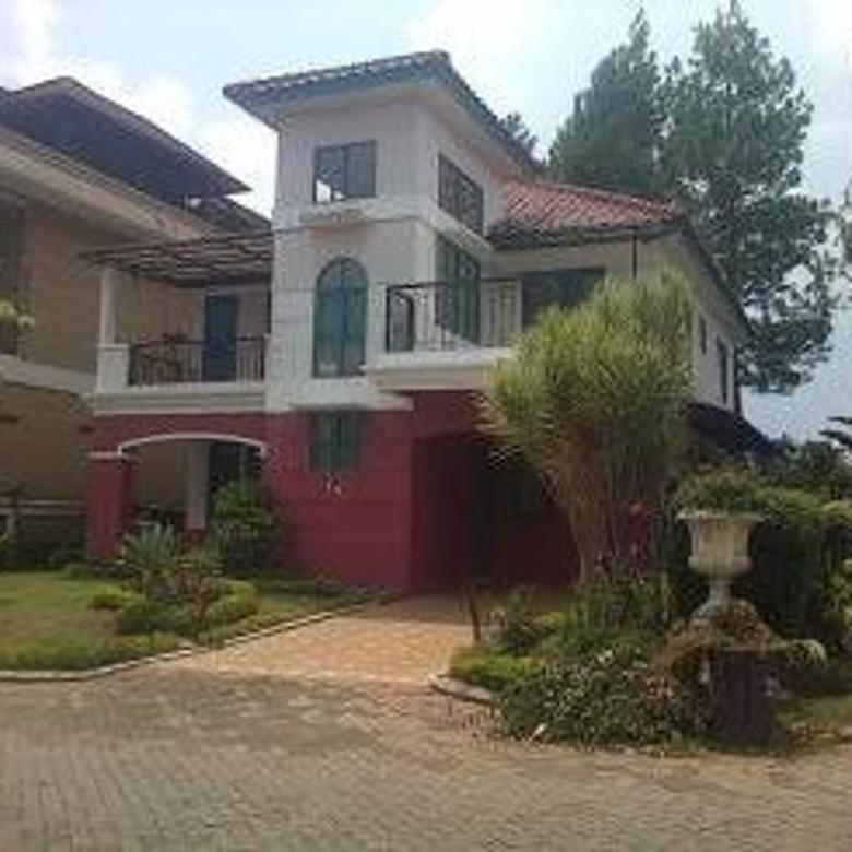 Disewakan Villa Strategis Baru di Kota Bunga Puncak Bogor