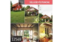 Villa Restu, Puncak, Jawa Barat, 2 Lt, SHM