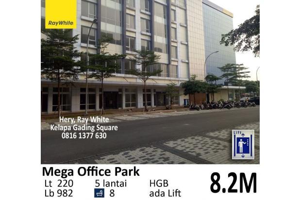 Rp8,2mily Gedung Bertingkat Dijual