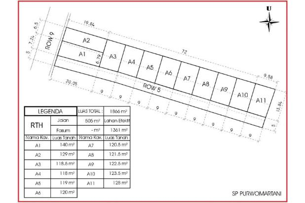 Rp453jt Tanah Dijual