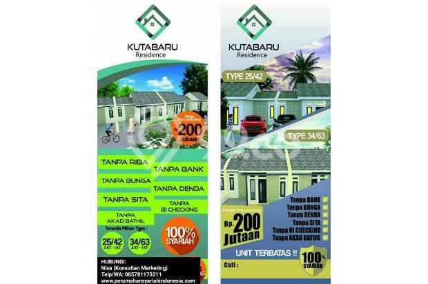 Rumah KPR Syariah Di Pasar Kemis | Dekat Stasiun Tangerang & Bandara Soetta 17935438