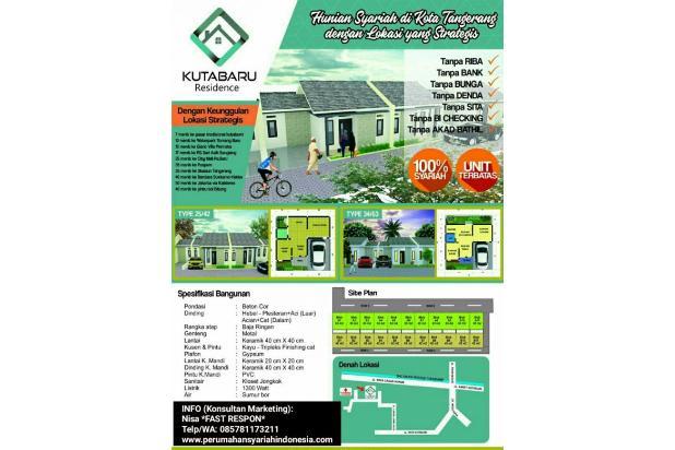 Rumah KPR Syariah Di Pasar Kemis | Dekat Stasiun Tangerang & Bandara Soetta 17935439