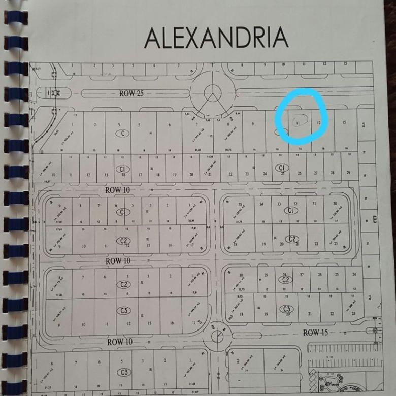 Kavling Wisata Bukit Mas Cluster Alexandria Lingkungan BERSIH