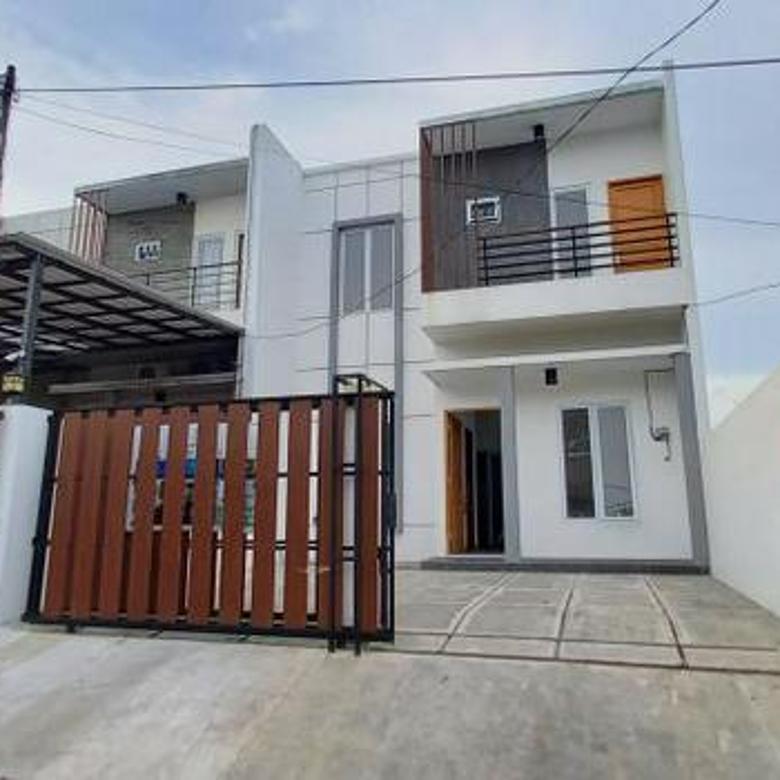 rumah minimalis baru di area kebayoran lama