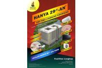 Apartemen Hanya DP 29.5 JT dapet Income cocok untuk Investasi