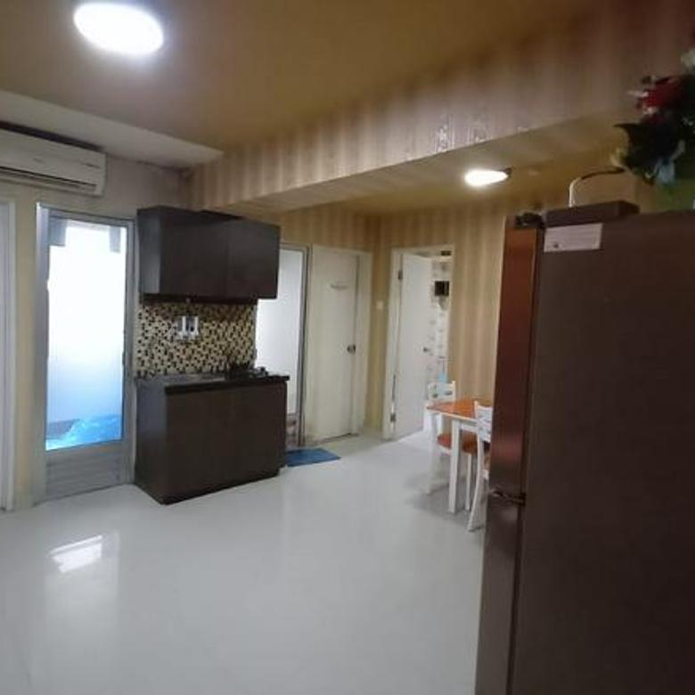 Apartemen kalibata city combine unit 2 kamar lantai rendah