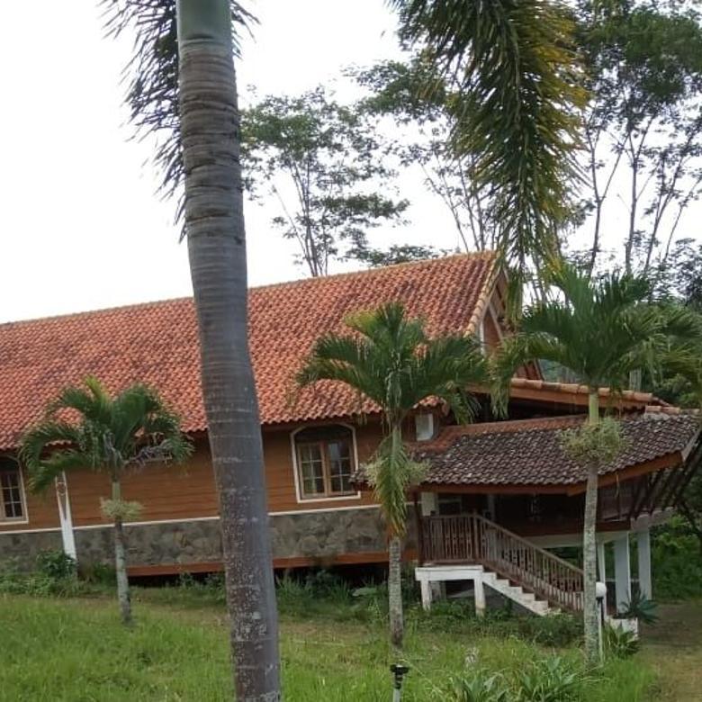 Tanah Bonus Villa Kayu Murah di Wagir