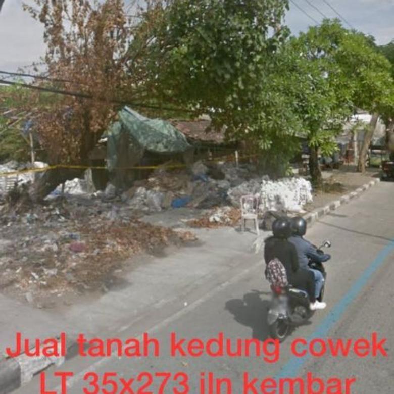 Dijual Tanah Lokasi Strategis di Kedung Cowek, Surabaya