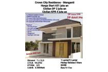 Rumah Baru Crown City Residence Menganti Garansi 888 Hari