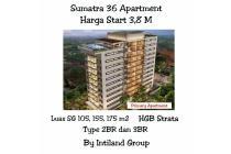 apartemen mewah sumatra 36 gubeng surabaya dekat tp intiland