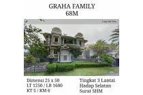 Rumah graha family surabaya barat wiyung dian istana mewah neg