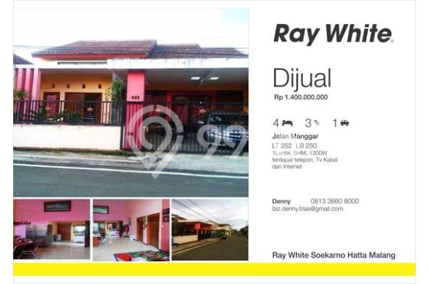 Dijual Rumah Soekarno Hatta Malang Manggar 5454933