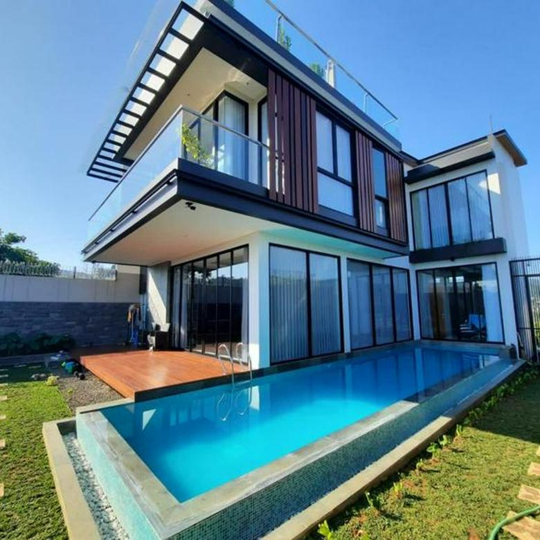 Rumah lux modern minimalis Citra Green Dago