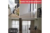 Rumah The Seven Residence, Jakarta Selatan, , 156 m², 3 Lt, SH