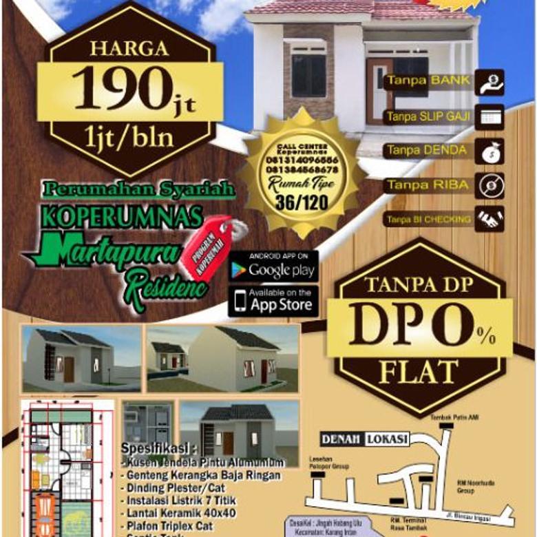 Martapura Residence - Rumah Desko 0%