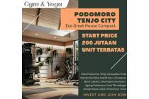 DIJUAL Rumah Baru Di Cluster Baru , Nyaman Dan Aman, Kab Bogor