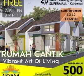 Di Jual Rumah Baru di Aryana Karawaci Serpong Tangerang