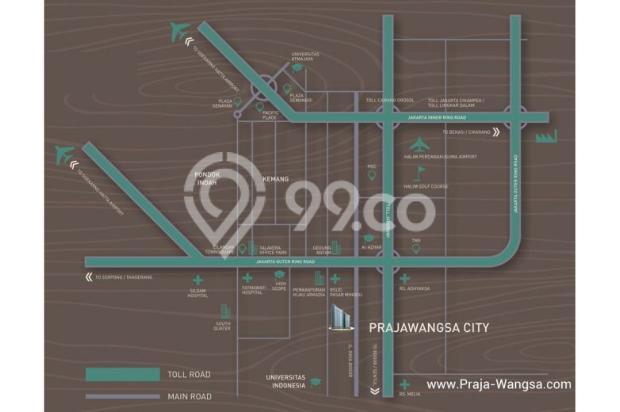 Jual Apartemen Prajawangsa Luas 25m2 Dekat TB Simatupang 11748898