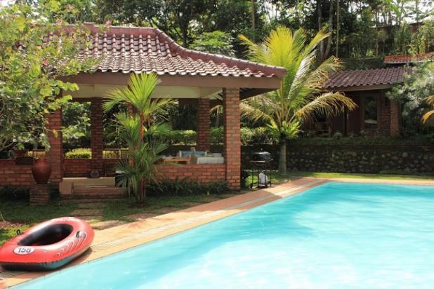 Villa dg KOLAM RENANG PRIBADI (tidak macet hny15 menit dari Ciawi) 3851889