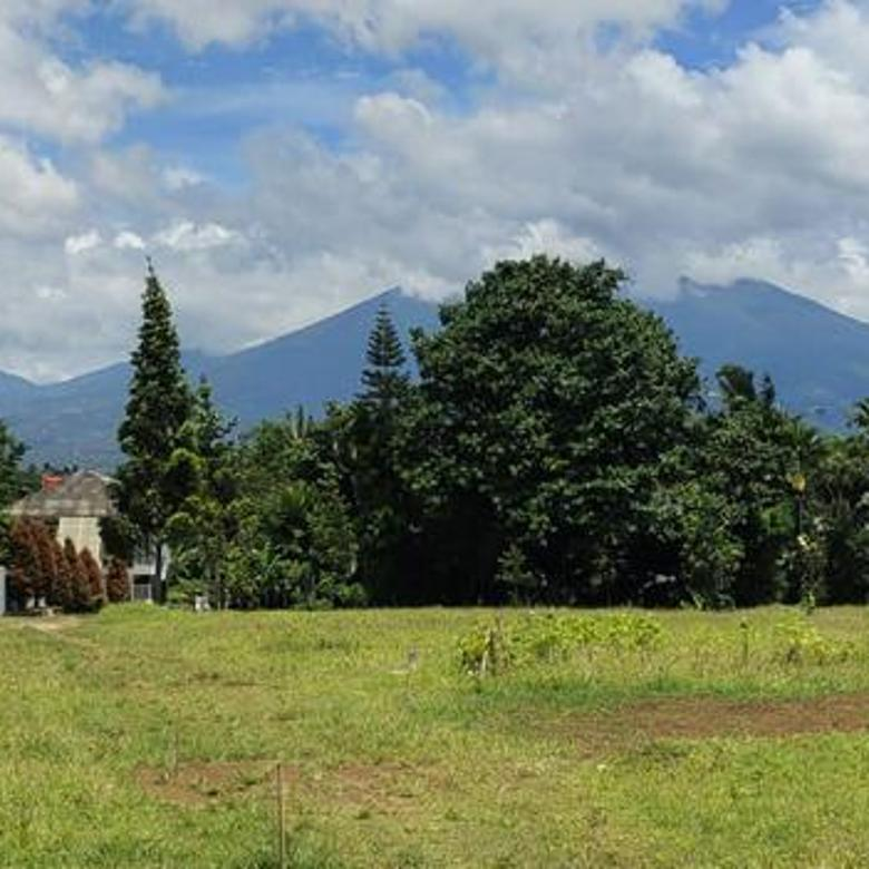 Tanah Kavling Ready Stok View Gunung di Ciawi Puncak Bogor