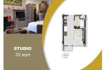 Bekasi Apartment MGold Tower (Studio - 33m)