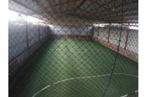 GOR Futsal dan Kavling Tanah ( Cocok utk Gudang/Pabrik/Ruko) @ Sukamenak