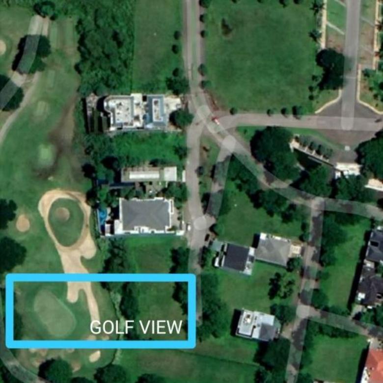 (BUL).Tanah Citraland Esplanade GA7 golf view nego
