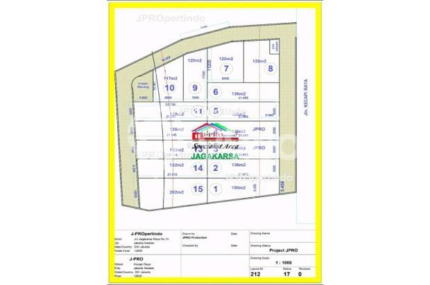kecapi residence, cluster mewah pinggir jalan raya jagakarsa jak sel 17341499