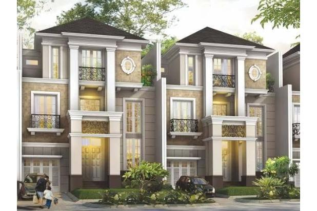 kecapi residence, cluster mewah pinggir jalan raya jagakarsa jak sel 17341503