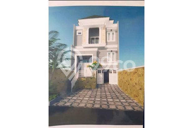 kecapi residence, cluster mewah pinggir jalan raya jagakarsa jak sel 17341508