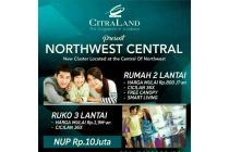 Rumah Minimalis Baru 2Lantai NWC Citraland Surabaya Barat