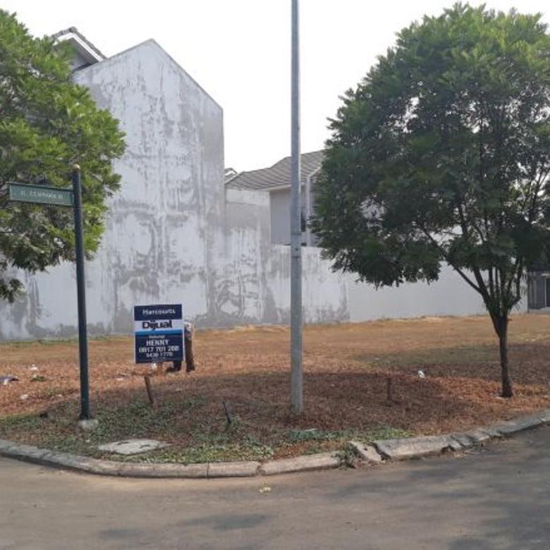 Kavling Suvarna Padi Cluster Cempaka Luas 287 m2, Tangerang