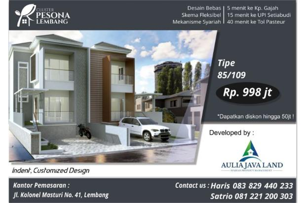Rp998jt Rumah Dijual