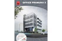 Dijual Gedung Kantor 2107 sqm di Graha Pramuka 2, Salemba, Jakarta Timur