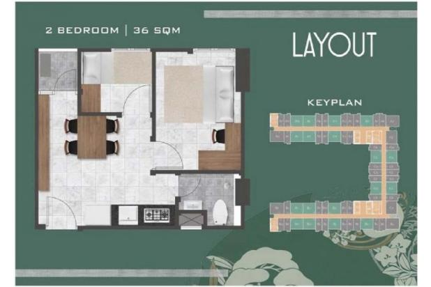Rp351jt Apartemen Dijual