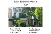 Rumah Galaxi Bumi Permai Araya 2 Surabaya