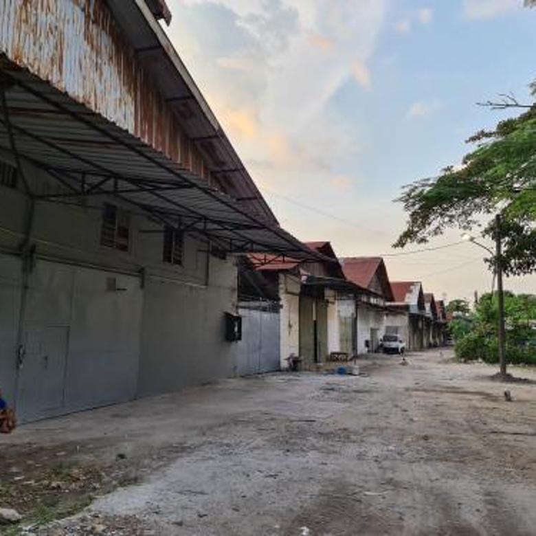 Gudang Bengseng, Kalideres, luas tanah 3.424, imb Gudang