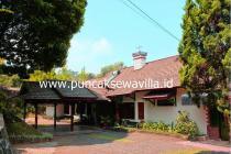 Villa disewakan dengan lokasi yang aman, nyaman & sejuk