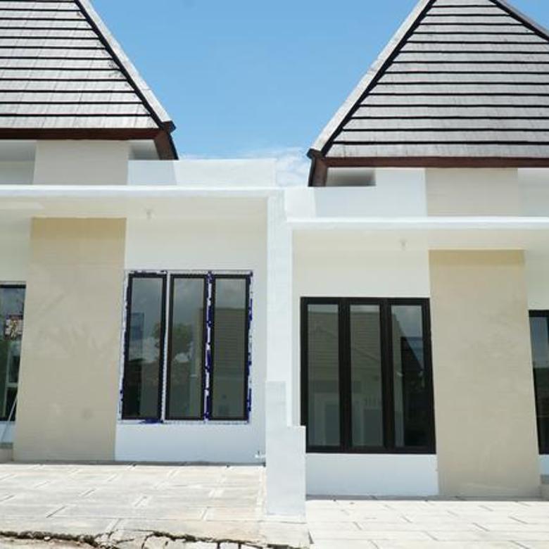 Rumah Siap Huni Dalam Cluster Berfasilitas Lengkap di Kalasan Sleman Yogyakarta
