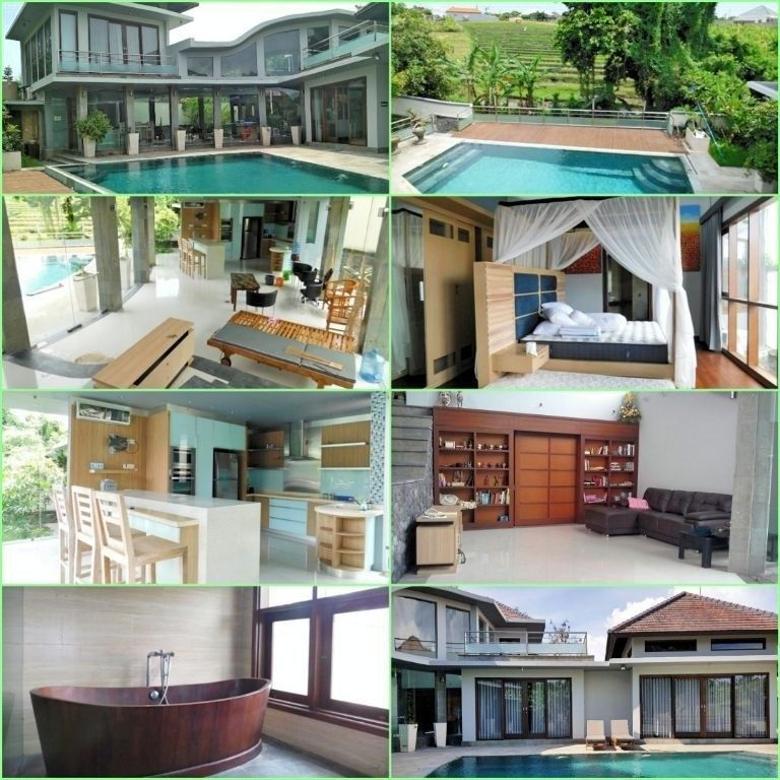 VILLA FOR SALE, Dijual Villa besar view sawah abadi di Pererenan, Canggu