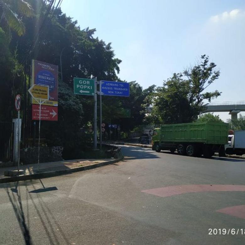 Kavling terdepan dalam Perumahan Kav. DPRD DKI, Cibubur Jaktim