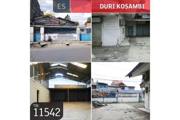 gudang jl.duri kosambi raya, jakarta barat, 15x60m, 1 lt