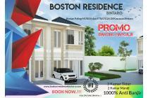 BINTARO. Rumah Cluster 2 Lantai Harga 600Jtan Sudah SHM Boston Residence Bintaro