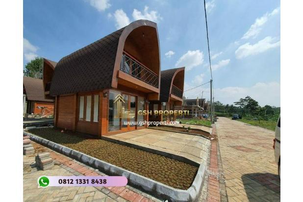 Villa muslim etnik Lombok di kawasan agrowisata Bogor 315 juta